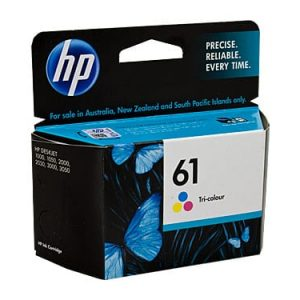 Genuine HP 61 (CH562WA) Colour ink cartridge - 165 pages