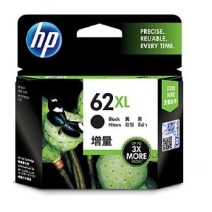 Genuine HP 62XL (C2P05AA) Black High Yield ink cartridge - 600 pages