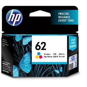 Genuine HP 62 (C2P06AA) Colour ink cartridge - 165 pages