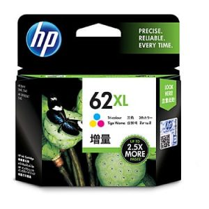 Genuine HP 62XL (C2P07AA) Colour High Yield ink cartridge - 415 pages