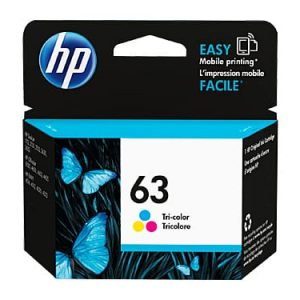Genuine HP 63 (F6U61AA) Colour ink cartridge - 165 pages