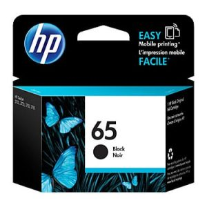 Genuine HP 65 (N9K02AA) Black ink cartridge - 120 pages