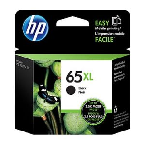 Genuine HP 65XL (N9K04AA) Black High Yield ink cartridge - 300 pages