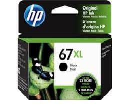 Genuine HP 67(3YM57AA) Black High Yield ink Cartridge - 240 pages
