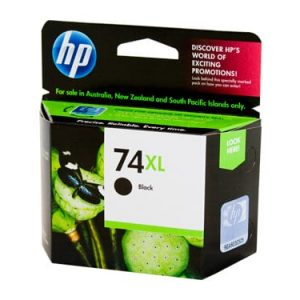 Genuine HP 74XL (CB336WA) Black ink cartridge - 710 pages