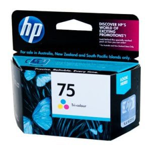Genuine HP 75 (CB337WA) Colour ink cartridge - 160 pages