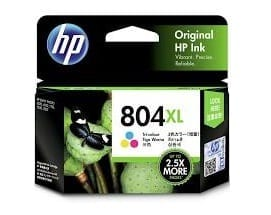 Genuine HP804XL (T6N11AA) Colour ink cartridge - 415 pages
