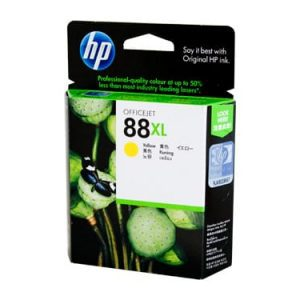 Genuine HP 88 (C9393A) Yellow ink cartridge - 1,540 pages