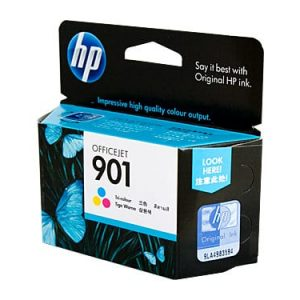 Genuine HP 901 (CC656AA) Colour ink cartridge - 360 pages