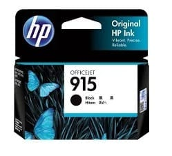 Genuine HP 915 (3YM18AA) Black ink cartridge -  300 pages