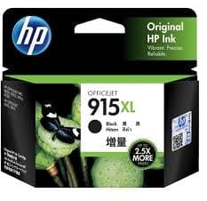 Genuine HP 915XL (3YM22AA) Black ink cartridge - 825 pages