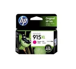 Genuine HP 915 (3YM16AA) Magenta ink cartridge - 315 pages