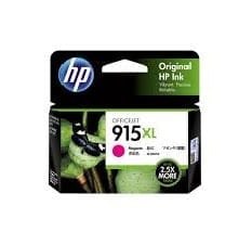Genuine HP 915XL (3YM20AA) Magenta ink cartridge - 825 pages