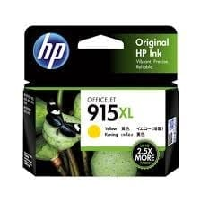 Genuine HP 915XL (3YM21AA) Yellow ink cartridge - 825 pages