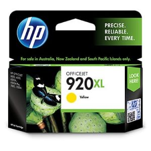 Genuine HP 920 (CD974AA) Yellow High Yield ink cartridge - 700 pages