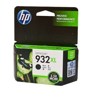 Genuine HP 932XL (CN053AA) Black High Yield ink cartridge - 1,000 pages