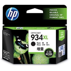 Genuine HP 934XL (C2P23AA) Black High Yield ink cartridge - 1,000 pages