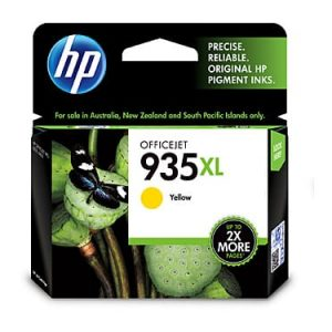 Genuine HP 935XL (C2P26AA) Yellow High Yield ink cartridge - 825 pages