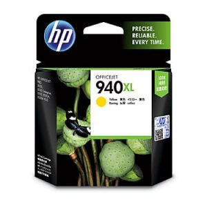 Genuine HP 940 (C4909AA) Yellow High Yield ink cartridge - 1,400 pages
