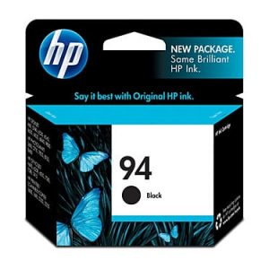 Genuine HP 94 (C8765WA) Black ink cartridge - 450 pages
