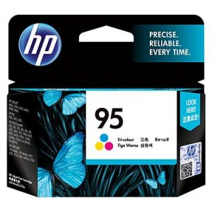 Genuine HP 95 (C8766WA) Colour ink cartridge - 260 pages