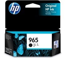 Genuine HP 965 (3JA80AA) Black ink cartridge - 1,000 pages