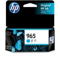 Genuine HP 965 (3JA77AA) Cyan ink cartridge - 700 pages