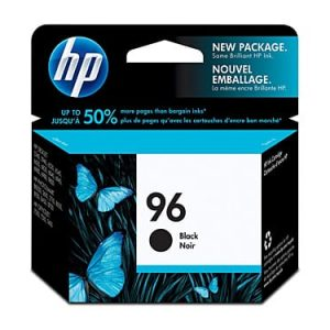 Genuine HP 96 (C8767WA) Black ink cartridge - 800 pages