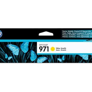 Genuine HP 971 (CN624AA) Yellow ink cartridge - 2,500 pages