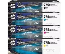 Genuine HP 975XL (L0S06AA) Yellow High Yield ink cartridge - 7,000 pages