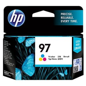 Genuine HP 97 (C9363WA) Colour ink cartridge - 450 pages