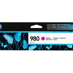 Genuine HP 980 (D8J08A) Magenta ink cartridge - 6,600 pages