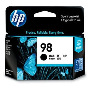 Genuine HP 98 (C9364WA) Black ink cartridge - 400 pages