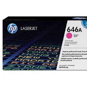 Genuine HP 646A (CF033A) Magenta toner cartridge - 12,500 pages