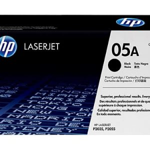 Genuine HP 05A (CE505A) Black toner cartridge - 2,300 pages