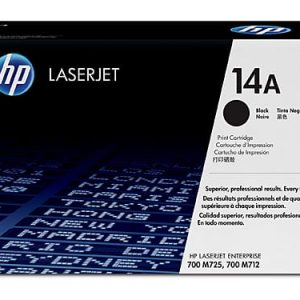 Genuine HP 14A (CF214A) Black toner cartridge - 10,000 pages