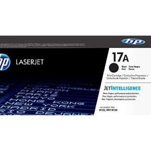 Genuine HP 17A (CF217A) Black toner cartridge - 1,600 pages