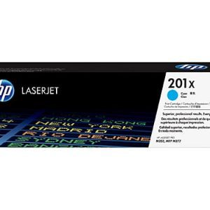 Genuine HP 201X (CF401X) Cyan High Yield toner cartridge - 2,300 pages