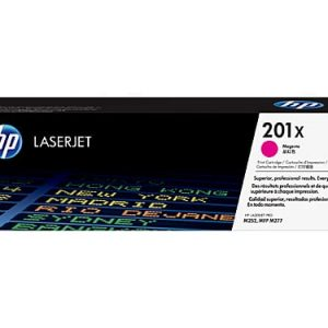 Genuine HP 201X (CF403X) Magenta High Yield toner cartridge - 2,300 pages