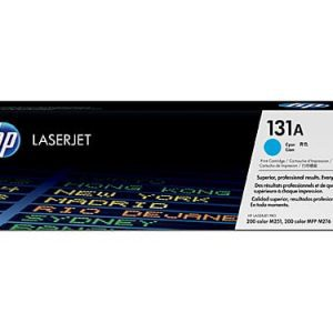 Genuine HP 131A (CF211A) Cyan toner cartridge - 1,800 pages