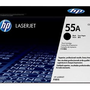 Genuine HP 55A (CE255A) Black toner cartridge - 6,000 pages