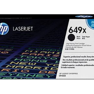 Genuine HP 649X (CE260X) Black High Yield toner - 10,500 pages