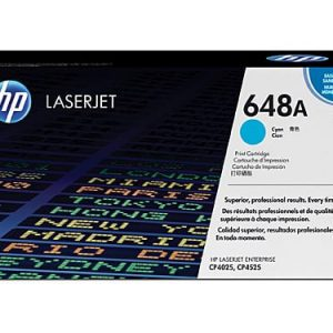 Genuine HP 648A (CE261A) Cyan toner - 7,000 pages