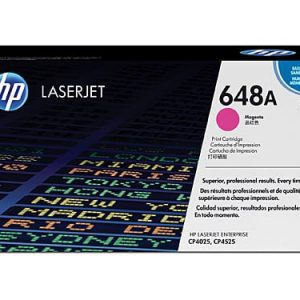 Genuine HP 648A (CE263A) Magenta toner - 7,000 pages