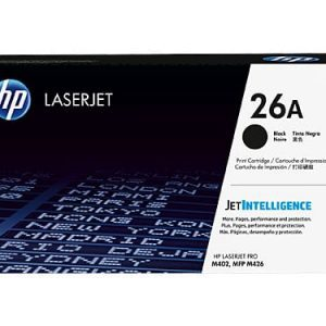 Genuine HP 26A (CF226A) Black toner cartridge - 3,100 pages