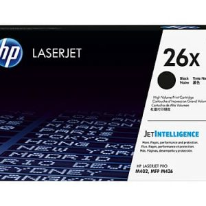 Genuine HP 26X (CF226X) Black High Yield toner cartridge - 9,000 pages