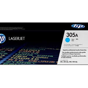 Genuine HP 305A (CE411A) Cyan toner cartridge - 2,600 pages