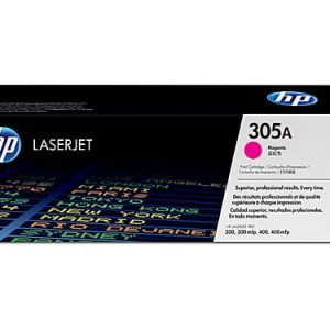Genuine HP 305A (CE412A) Yellow toner cartridge - 2,600 pages
