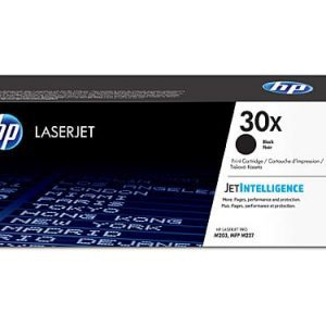 Genuine HP 30X (CF230X) Black High Yield toner cartridge - 3,500 pages