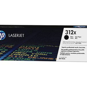 Genuine HP 312X (CF380X) Black High Yield toner cartridge - 4,400 pages